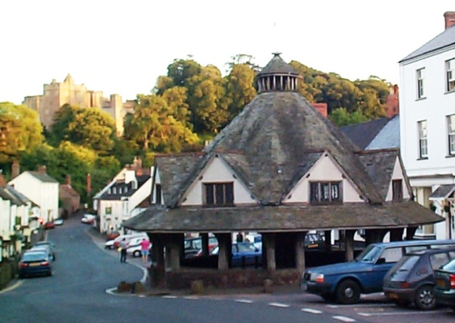 The Mediæval Yarn Market in Dunster