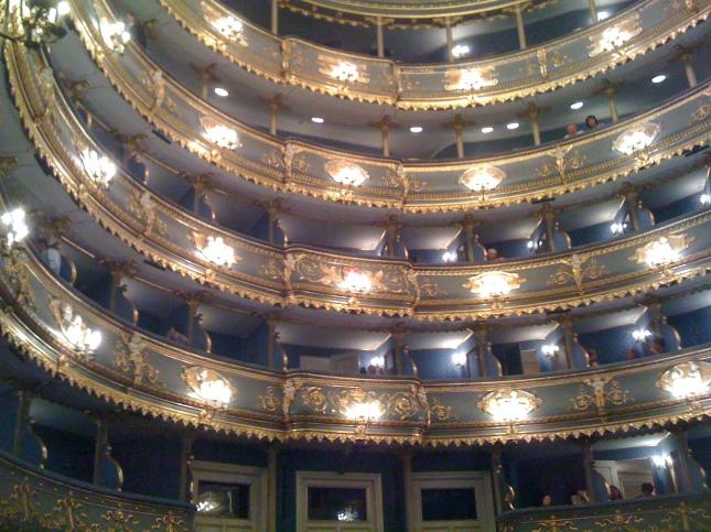 Interior of the Estates Theatre, Prague